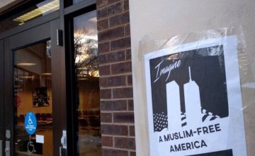 A White Terrorist Group is Posting Chilling Anti-Muslim Propaganda on College Campuses