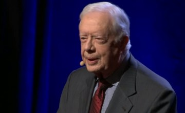 President Carter: Mistreatment of Women Is the Number One Human Rights Abuse