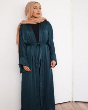 emerald abaya