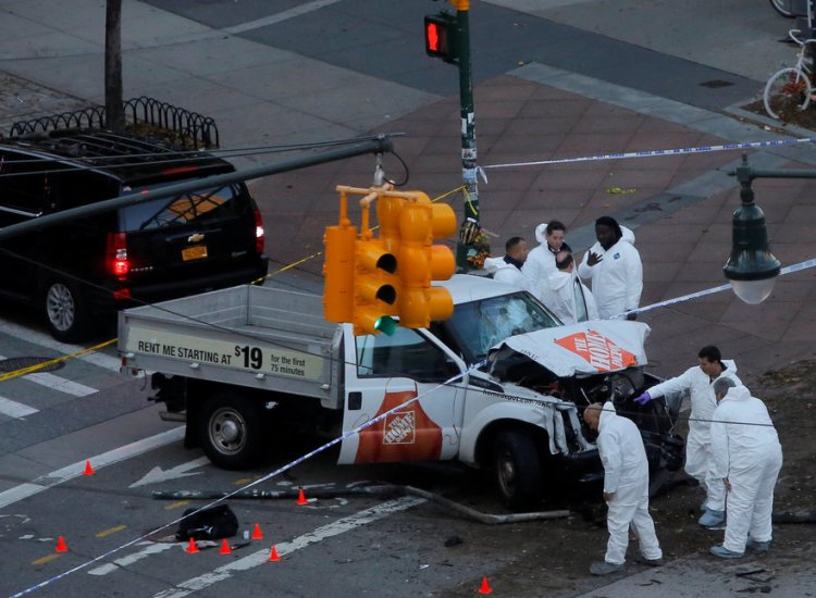 At Least 8 Killed in New York City After Truck Plows Into Crowd