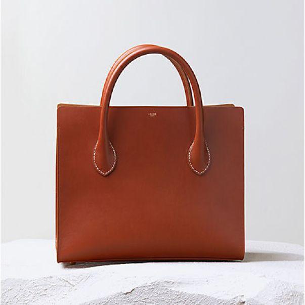 Celine-Tan-Boxy-Bag
