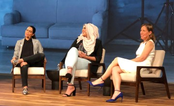 Muslim Girl Editor Talks Girl Power at Google Zeitgeist