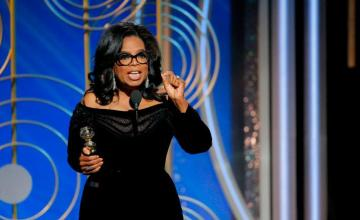 Oprah's 2018 Golden Globe Speech Has Everybody Shook