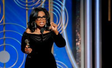 Oprah's 2018 Golden Globe Speech Has Everybody Shook