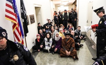#MuslimsForDream Activists Arrested in DC After Standing up for Dreamers