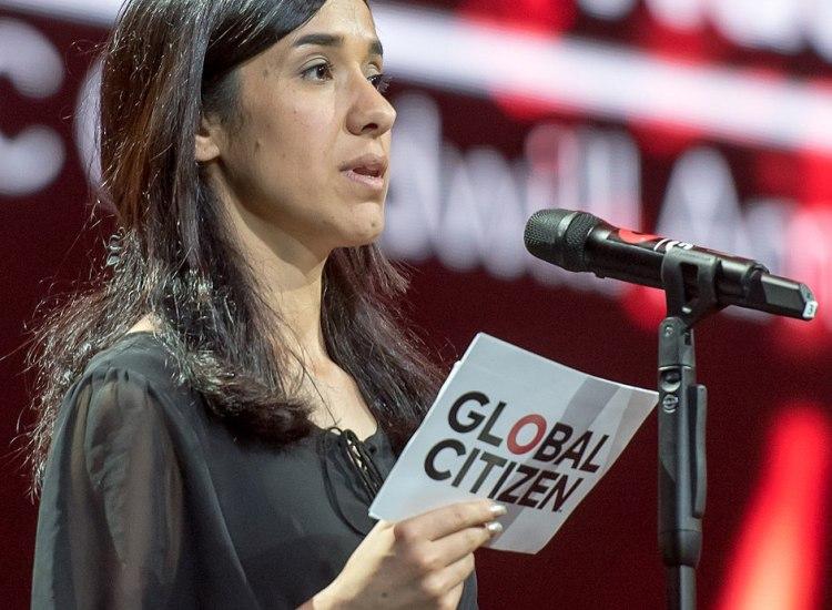 Yazidi Activist and Rape Survivor, Nadia Murad, Wins 2018 Nobel Peace Prize