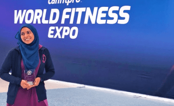 Meet Amina Khan, the Health Guru Working to Revolutionize the Fitness Space