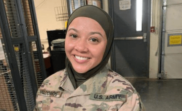 This U.S. Armed Forces Member Alleges She's Being Discriminated Against Because She's Muslim