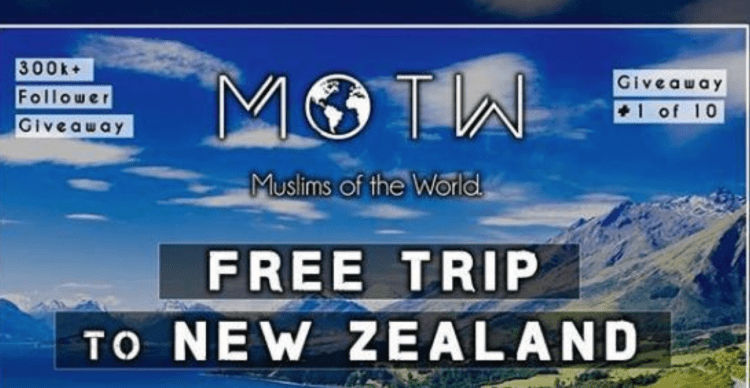 Did These Muslims Really Try to Exploit the New Zealand Tragedy for Followers?
