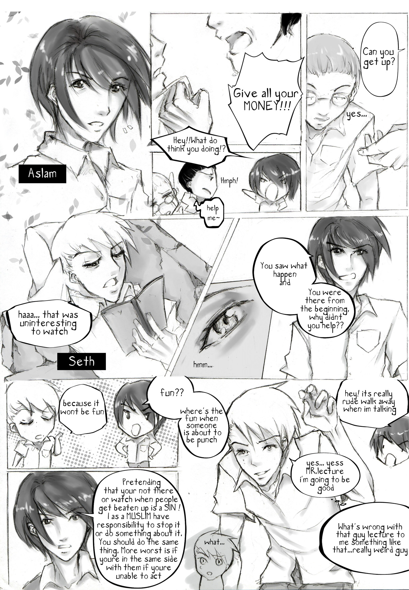Fight for Truth Page 1