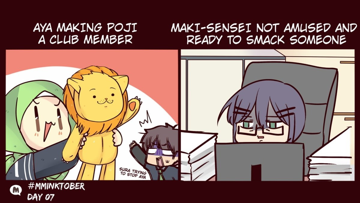 Day 07: Maki-sensei is not amused