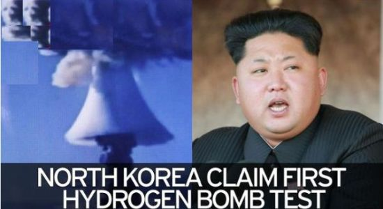 North Korea Claim First Hydrogen Bomb Test - Image Copyright MuslimMirror.Com