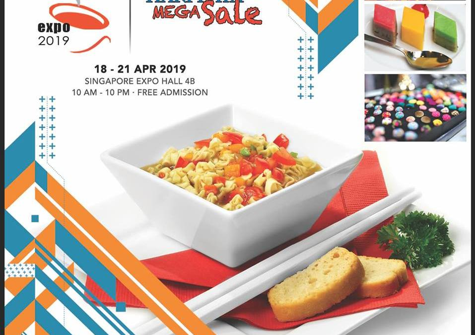 Singapore 18th Halal Food Expo 2019 and Hari Raya Mega Sale