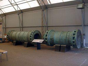 مدفع الدردنيل ل الذي استعمل في حصار القسطنطينية