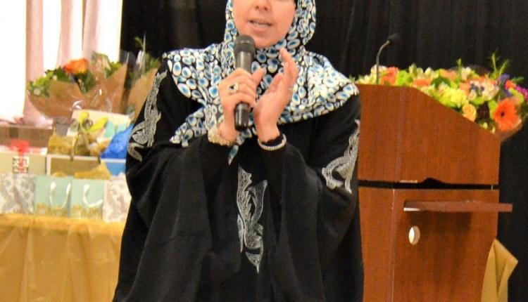 """الداعية """"رباب رشيد"""" مشرفة دورات السيرة النبوية بمساجد شيكاغو في الولايات المتحدة الأمريكية"""