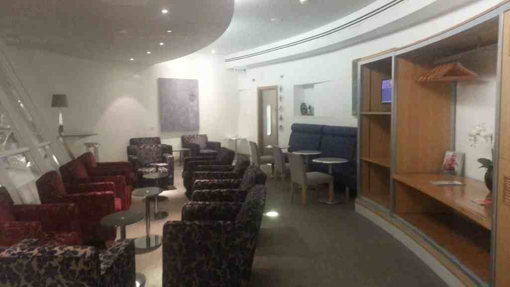 British Airways Manchester Airport lounge