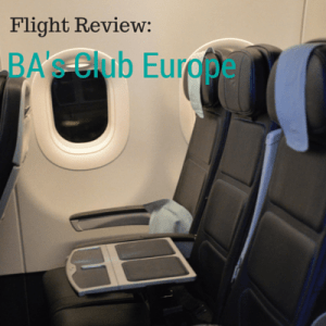 Review: British Airways Club Europe London to Istanbul
