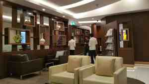 Etihad Arrivals Lounge Abu Dhabi Review