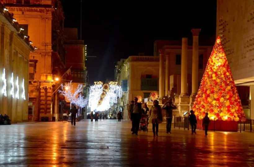 The Best Places To Spend Christmas, malta