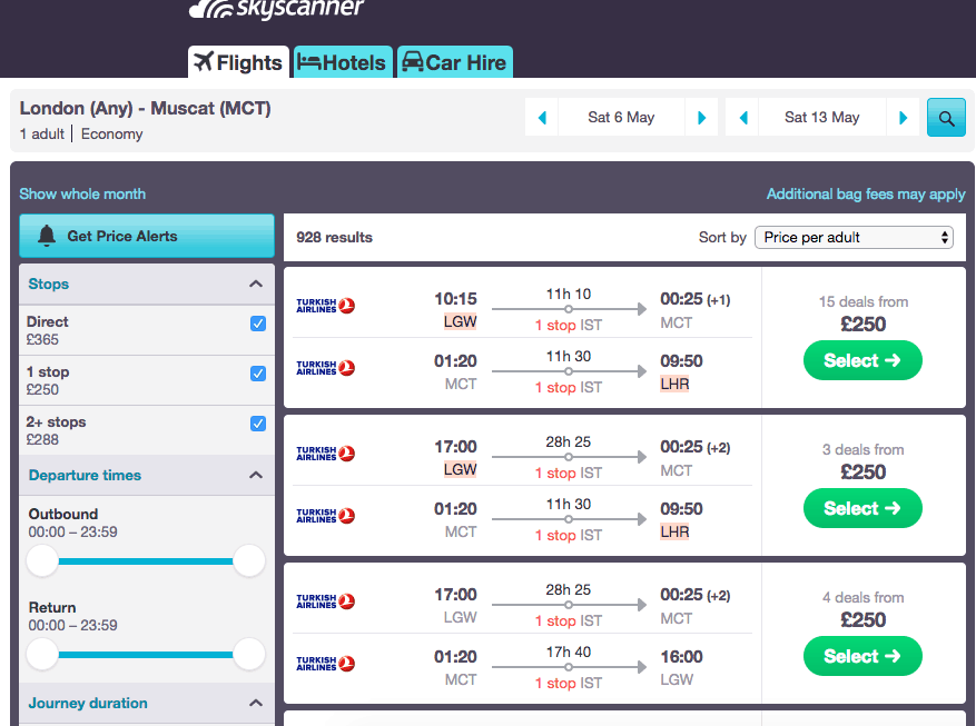 London To Oman for £250 in Ramadan, Perfect Option for Spending Ramadan in a Muslim country