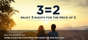 Accorhotels Promotion 3 for 2 Around the World – Cheaper option for Umrah too