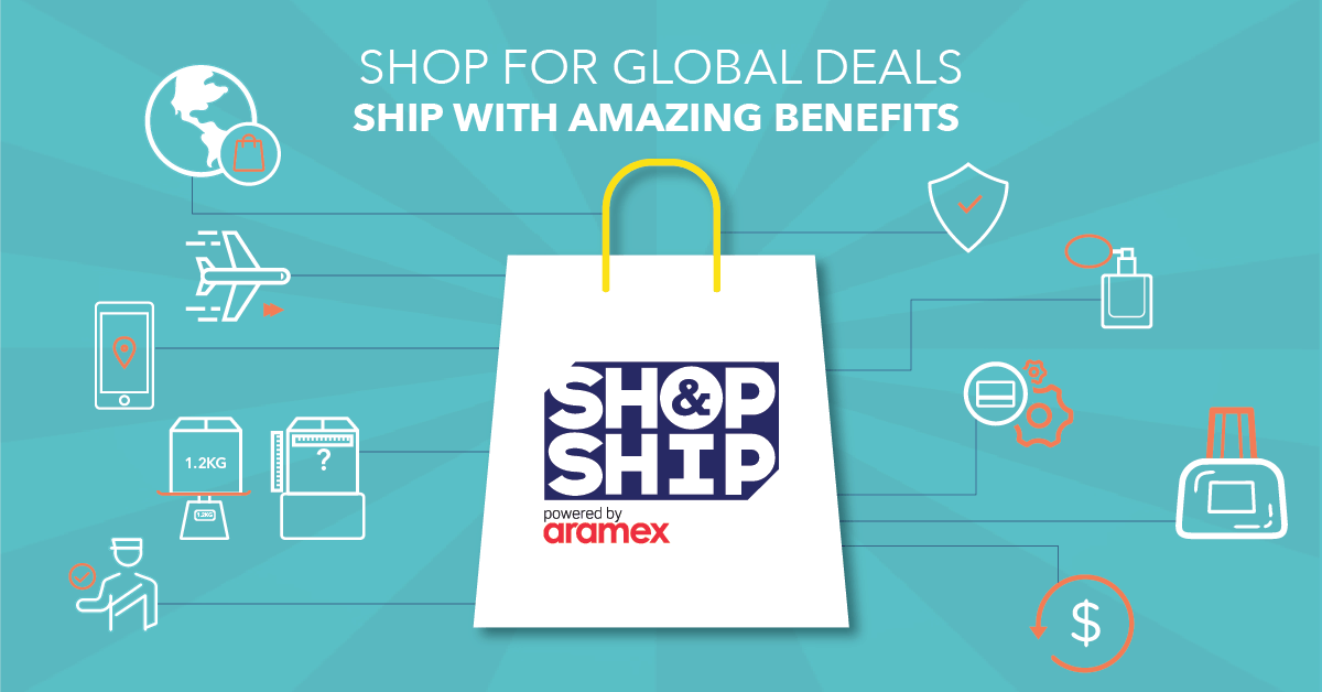 Shop & Ship is an international shipping service that allows you to shop from the Australia, Canada, China, Egypt, France, Georgia, Germany, Hong Kong, India, Italy, Japan, Jordan, Lebanon, Malaysia, 2- The discount is on the Shop & Ship Lifetime Membership fee and is not available in conjunction with any other offers or promotions.