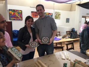 Tile Making High Wycombe May 2016
