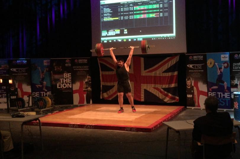 jalaal miller under 18 weightlifting British Muslim