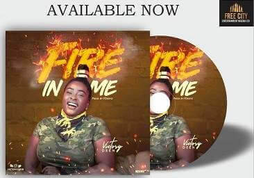 Fire In Me - by Victory Deen
