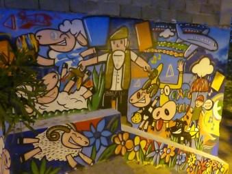 kolorowy mural 2
