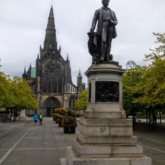 28. Glasgow - katedra św. Mungo i pomnik Davida Livingstone'a