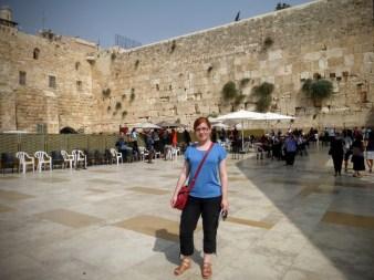 30. Jerozolima - Ściana Płaczu i ja