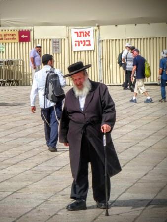 31. Jerozolima - przy Ścianie Płaczu
