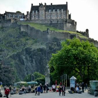 6. Edynburg - zamek