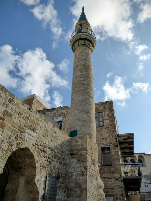 7. Akka - minaret