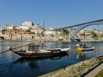 13. Rzeka Douro, most Ludwika I i wybrzeże Ribeira
