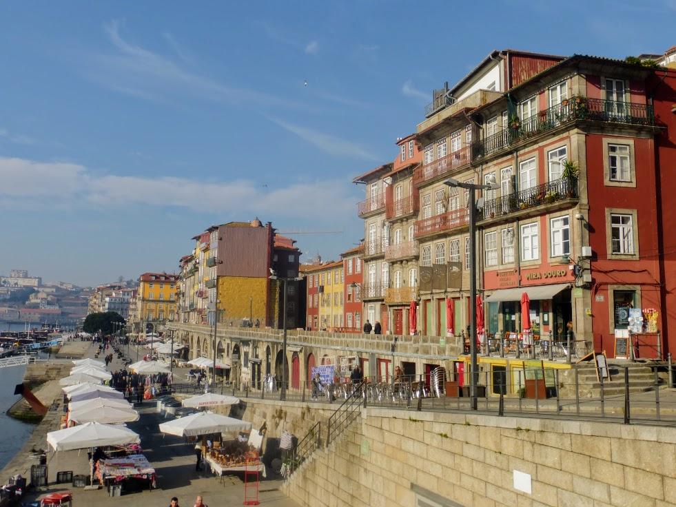 9. Widok na nadbrzeże Praca da Ribeira