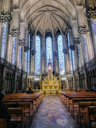 Jedna z kaplic w katedrze.
