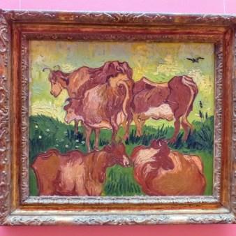 V. van Gogh - Krowy