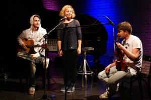 #evening_hero_1 der #open 3: Basti & Vicky mit Julian
