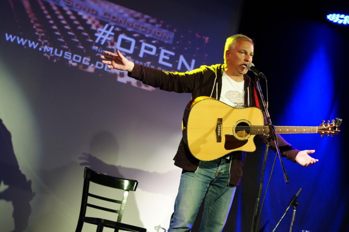 Gast des Abends: Radiomoderator und Comedian Matthias Matuschik