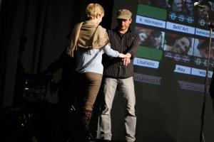 Publikumsgewinnerin zieht die Auftrittsreihenfolge der Gewinner