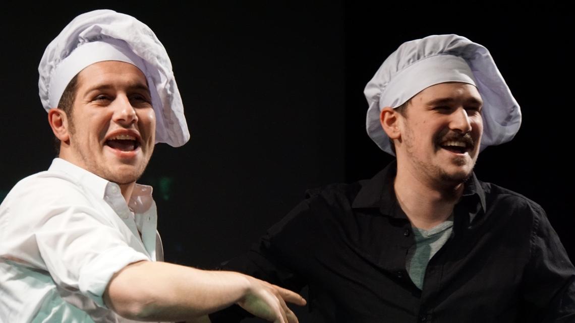 Die literarische Kochshow: Baier & Hang