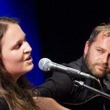 Mit Weltg'schicht'n auf Platz 3: Julia Pöckl und Leonhard Schwarz