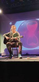 Wusste erst 30 Minuten vor der Show, dass er auftritt: Nathanel Scheutz (Foto: Wolfgang Dieter Ascher)