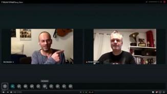 Feuerprobe eines voll virtuellen Song Slams: Alex Sebastian und Michael Bohlmann