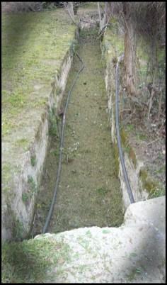 acondicionamiento palacio de Tendilla acequia limpia