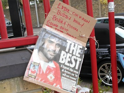 Pele good, Maradona better, George Best