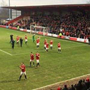 3-2 på övertid, FC United tackar hemmafansen