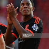 during the Barclays Premier League match between Southampton and Manchester United at St Mary's Stadium on September 20, 2015 in Southampton, United Kingdom.